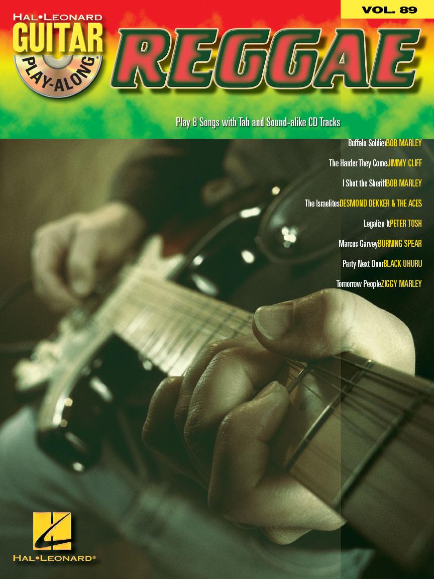 Reggae : Guitar Play-Along Volume 89 (Guitar Tab) : Book/CD Pack : # 700468