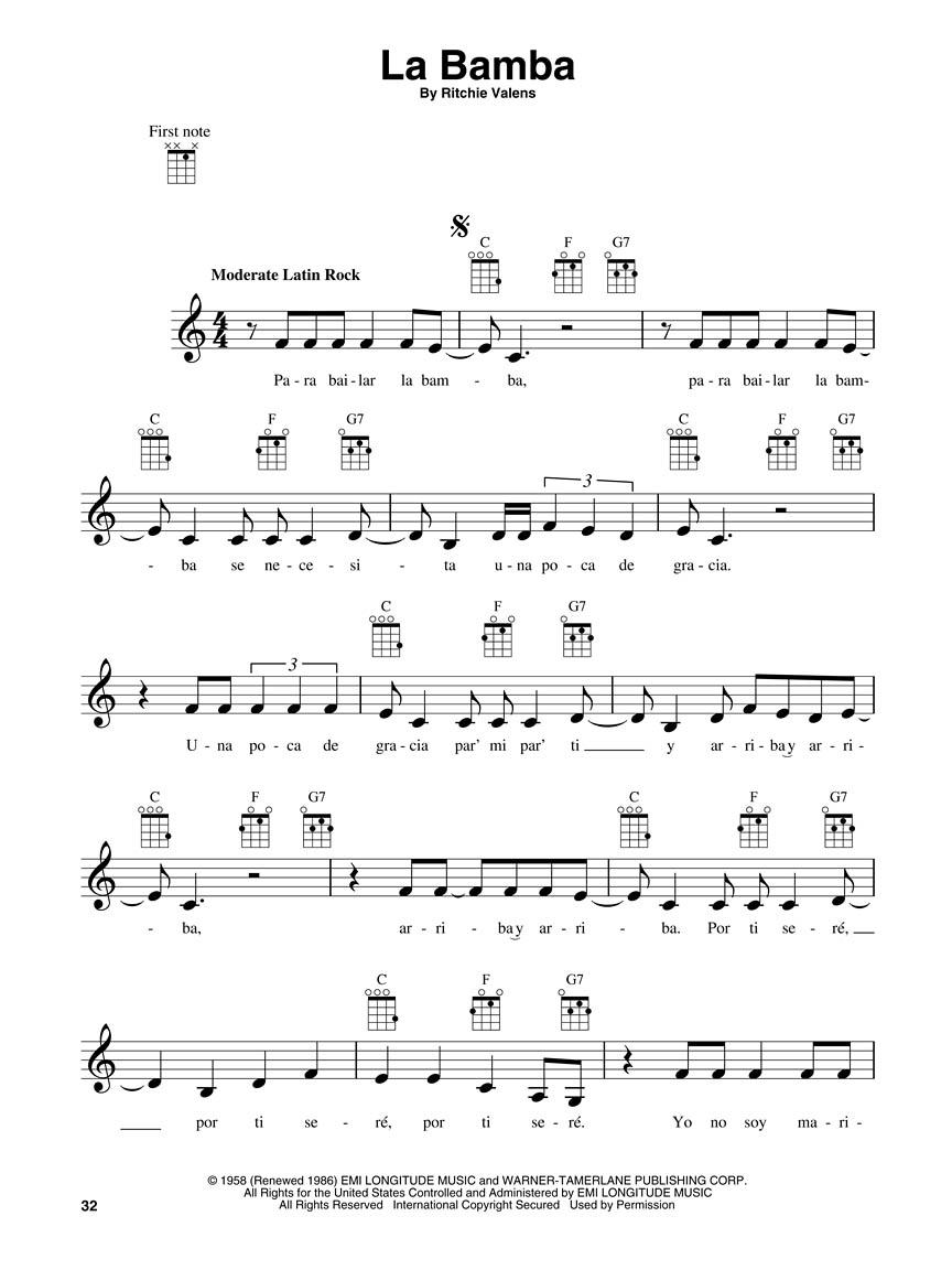 3 chord ukulele songs pdf