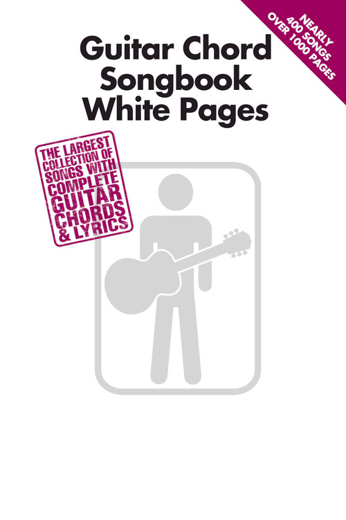 Guitar Chord Songbook White Pages Guitar Chord Songbook Hal