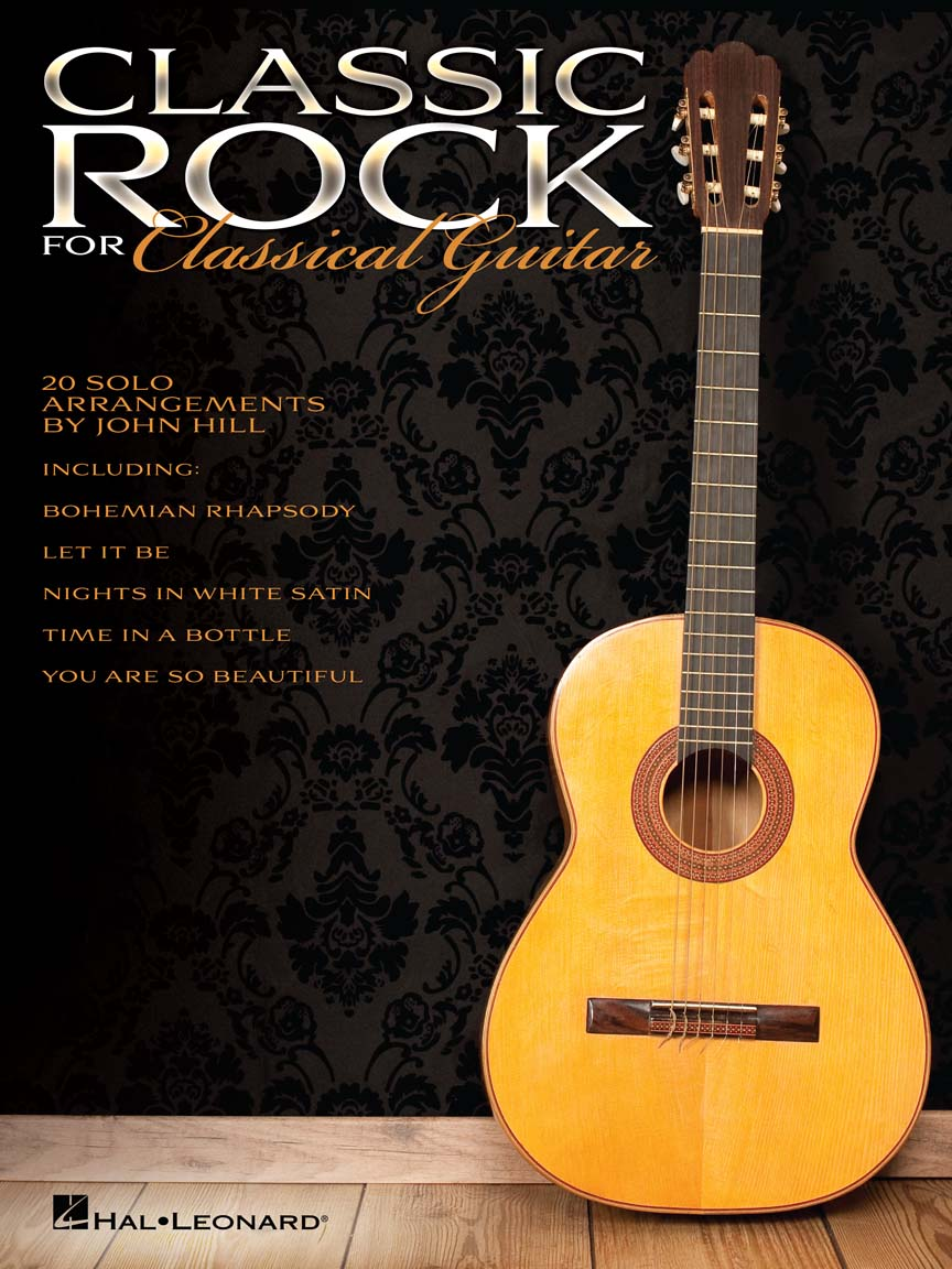 classic rock for classical guitar guitar tab arr john hill guitar 703633. Black Bedroom Furniture Sets. Home Design Ideas