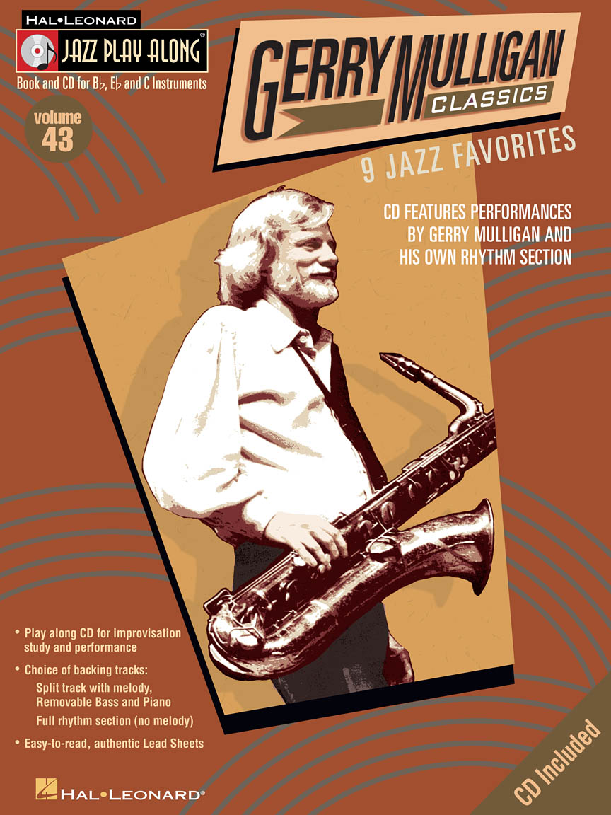 gerry mulligan classics jazz play along volume 43 northwest music. Black Bedroom Furniture Sets. Home Design Ideas