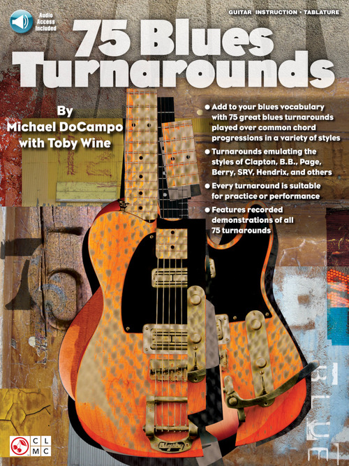 75 Blues Turnarounds, Guitar Educational - Hal Leonard Online