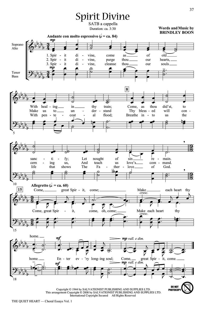 Choir music essay