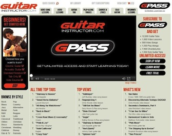 Hal Leonard Online - Press Releases - Online Guitar Lessons and Tab