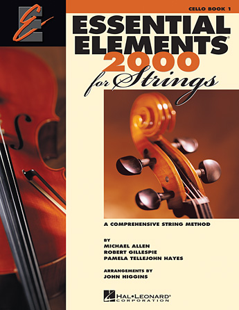 Essential Elements 2000 For Strings Book 1 - Cello (Book Only)