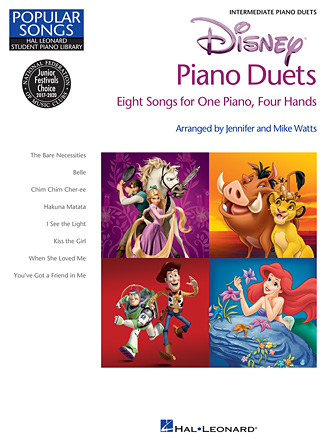 Disney Piano Duets - Arr. Jennifer and Mike Watts