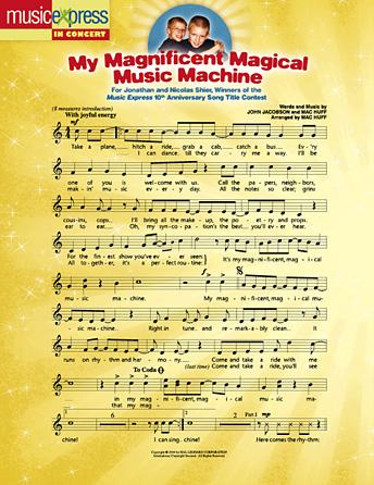 My Magnificent Magical Music Machine