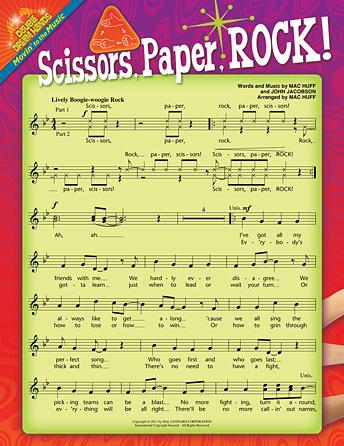 Scissors, Paper, Rock!