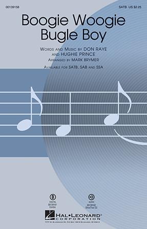 Boogie Woogie Bugle Boy - Bb Tenor Saxophone