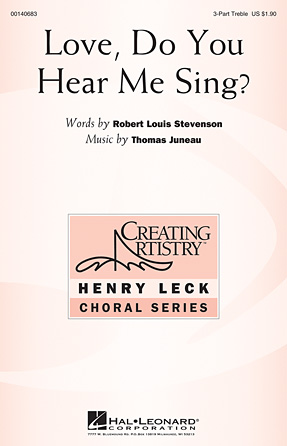 Love, Do You Hear Me Sing?