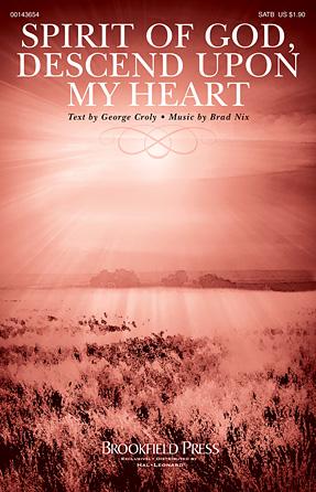 Spirit Of God, Descend Upon My Heart