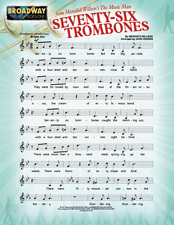 Seventy-Six Trombones (from <i>The Music Man</i>)