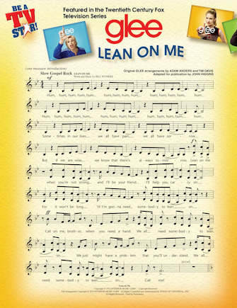 Lean on Me/Don't Stop Believin' (from GLEE)