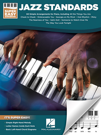 Jazz Standards – Super Easy Songbook
