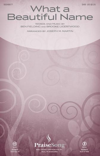 Hillsong Worship - What a Beautiful Name (arr  Joseph M