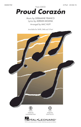 Proud Corazon From Coco Arr Mac Huff Choral Music Download Mac huff) sheet music for choeur ssa by pasek & paul from sheet music direct. coco arr mac huff choral