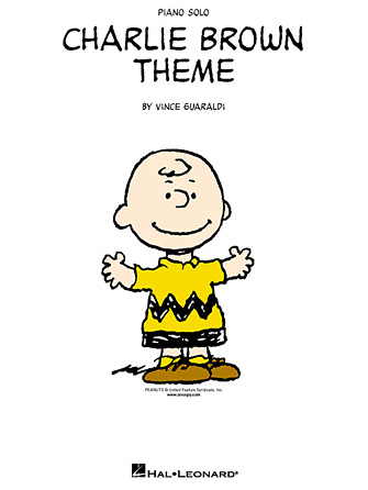 Charlie brown theme sheet music direct voltagebd Image collections