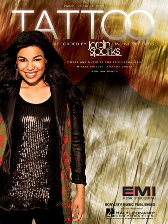 Tattoo sheet music direct for Jordin sparks tattoo song lyrics