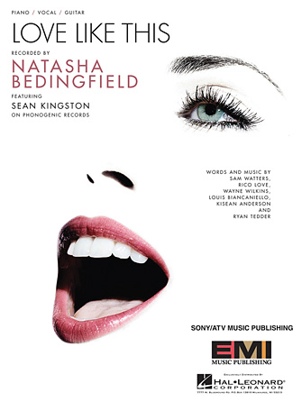 Natasha bedingfield sean kingston love like this lyrics