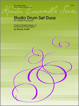 Studio Drum Set Duos (For A Student And Teacher)