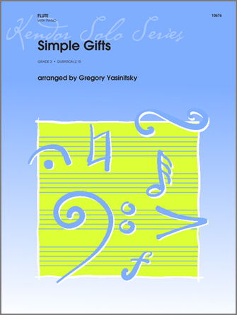 Simple Gifts - Piano/Score