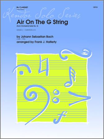 Air On The G String (from Orchestral Suite No. 3) - Clarinet