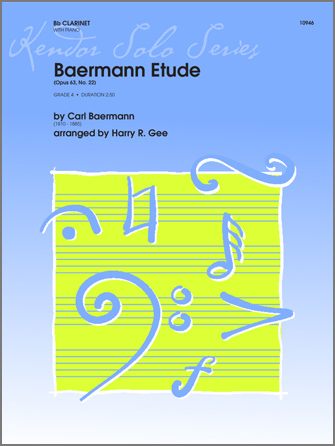 Baermann Etude - Clarinet