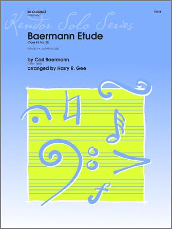 Baermann Etude - Piano/Score