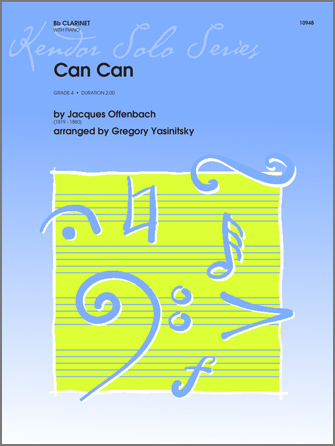 Can Can (from Orpheus In The Underworld) - Piano/Score