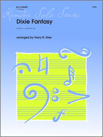 Dixie Fantasy - Clarinet