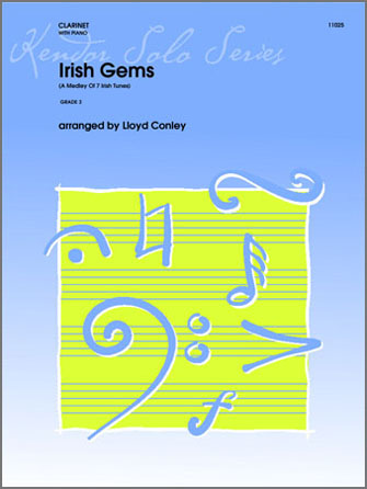 Irish Gems (A Medley Of 7 Irish Tunes) - Clarinet