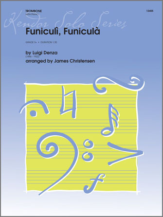 Funiculi, funiculá - Trombone