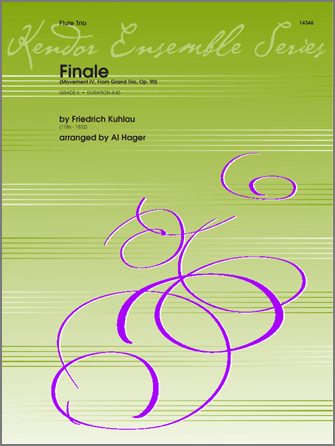 Finale (Movement IV, From Grand Trio, Op. 90) - Full Score
