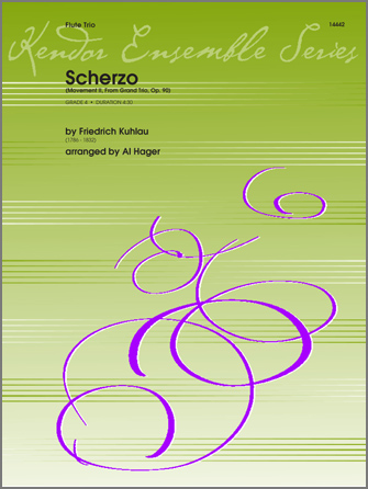 Scherzo (Movement II from Grand Trio, Op. 90) - Flute 2