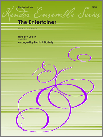 Entertainer, The - Clarinet 1