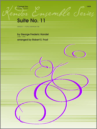 Suite No. 11 - Clarinet 2