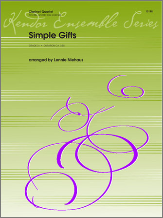 Simple Gifts - Clarinet 2