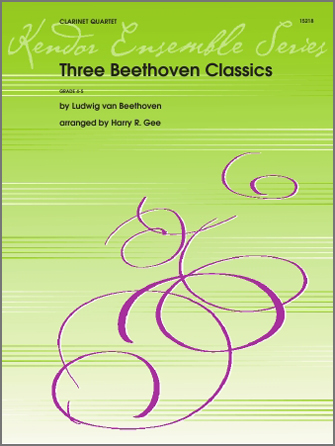 Three Beethoven Classics - Bass Clarinet