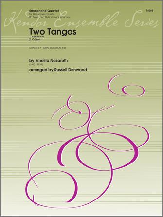 Two Tangos - Alto Sax