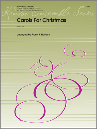 Carols for Christmas - Bass Clarinet