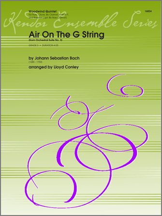 Air On The G String (from Orchestral Suite No. 3) - Bass Clarinet