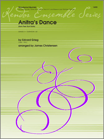 Anitra's Dance (from Peer Gynt Suite) - Full Score