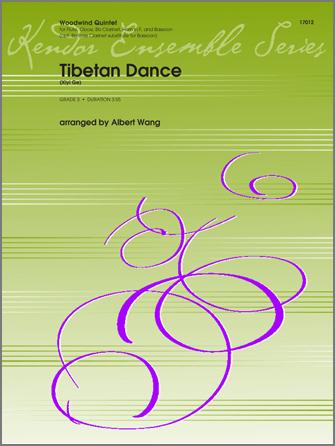 Tibetan Dance (Xiyi Ge) - Bass Clarinet