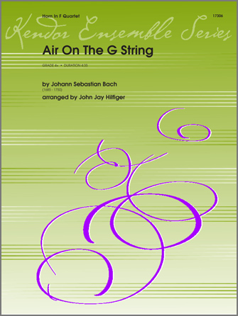 Air On The G String (from Orchestral Suite No. 3) - Full Score