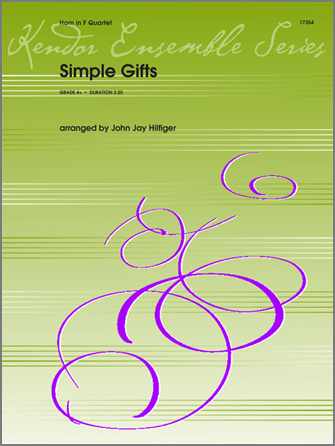 Simple Gifts - Horn 4 in F