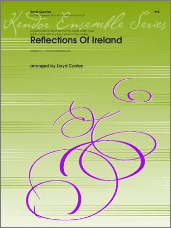 Reflections Of Ireland - Full Score