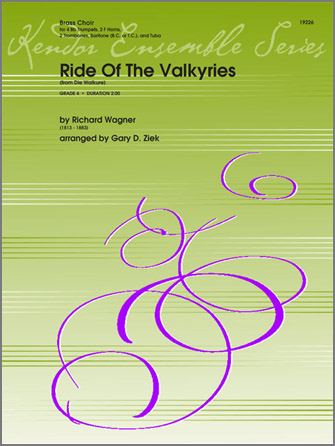 Ride Of The Valkyries (from Die Walkure) - Baritone