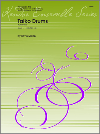 Taiko Drums (Kumi-Daiko) - Percussion 1