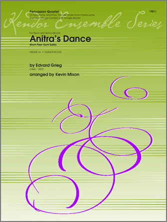Anitra's Dance (from Peer Gynt Suite) - Percussion 4