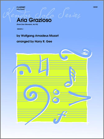 Aria Grazioso (From Don Giovanni, Act III) - Clarinet